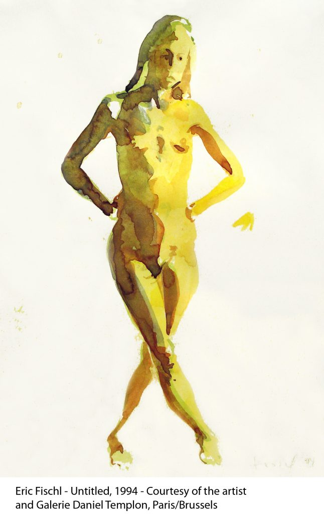 Eric Fischl - Untitled, 1994 - Courtesy of the artist and Galerie Daniel Templon, Paris-Brussels
