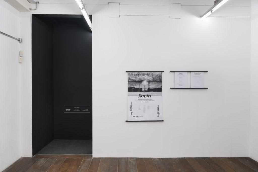 Gisela Motta & Leandro Lima, Xapiri, exhibition view. image Courtesy of Vermelho