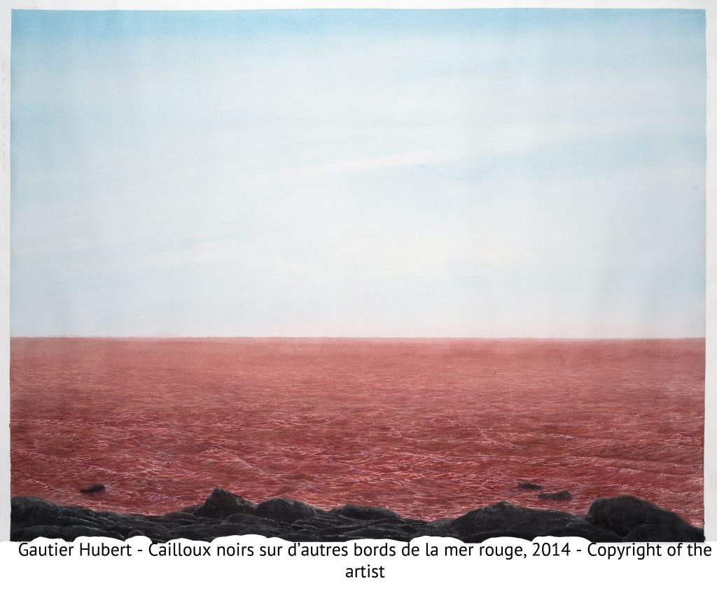 Gautier Hubert - Cailloux noirs sur d'autres bords de la mer rouge, 2014 - Copyright of the artist