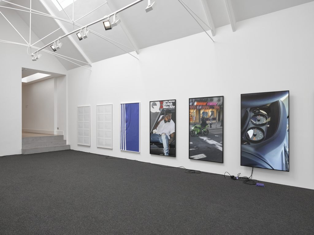 Cory Arcangel: 'currentmood' Installation view © Cory Arcangel; Courtesy of Lisson Gallery Photography by Jack Hems