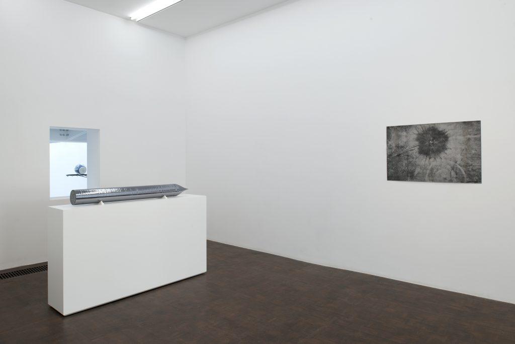 Maarten Vanden Eynde, Exhibition view, Catastrophic Casualties & Casual Catastrophes, Meessen De Clercq. Image Courtesy of Meessen De Clercq.