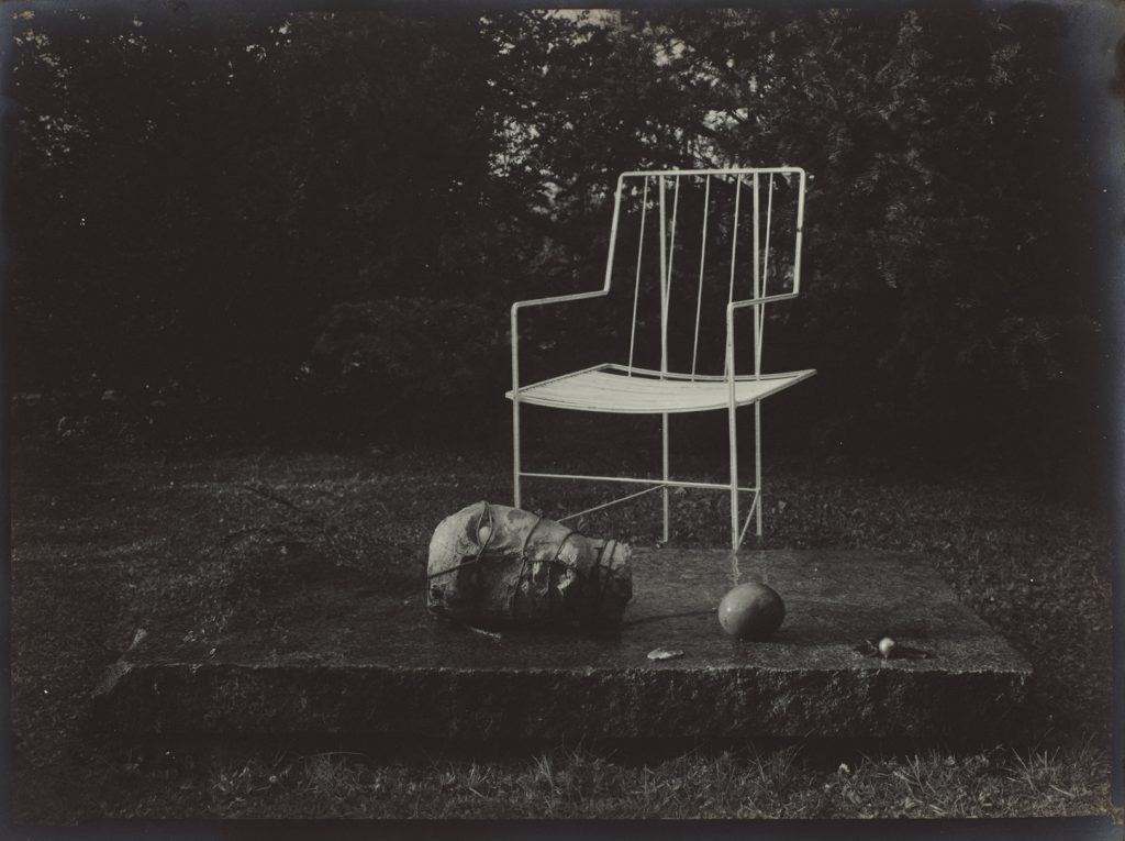 Josef Sudek, In the Magic Garden, from the series Memories,1954–1959 gelatin silver print, 17 × 23.3 cm National Gallery of Canada, Ottawa. Gift of an anonymous donor, 2010 © Estate of Josef Sudek.