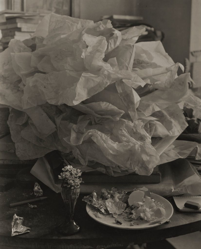 Josef Sudek, Labyrinth on My Table, 1967 gelatin silver print, 27.7 × 24.4 cm National Gallery of Canada, Ottawa. Gift of an anonymous donor, 2010. © Estate of Josef Sudek