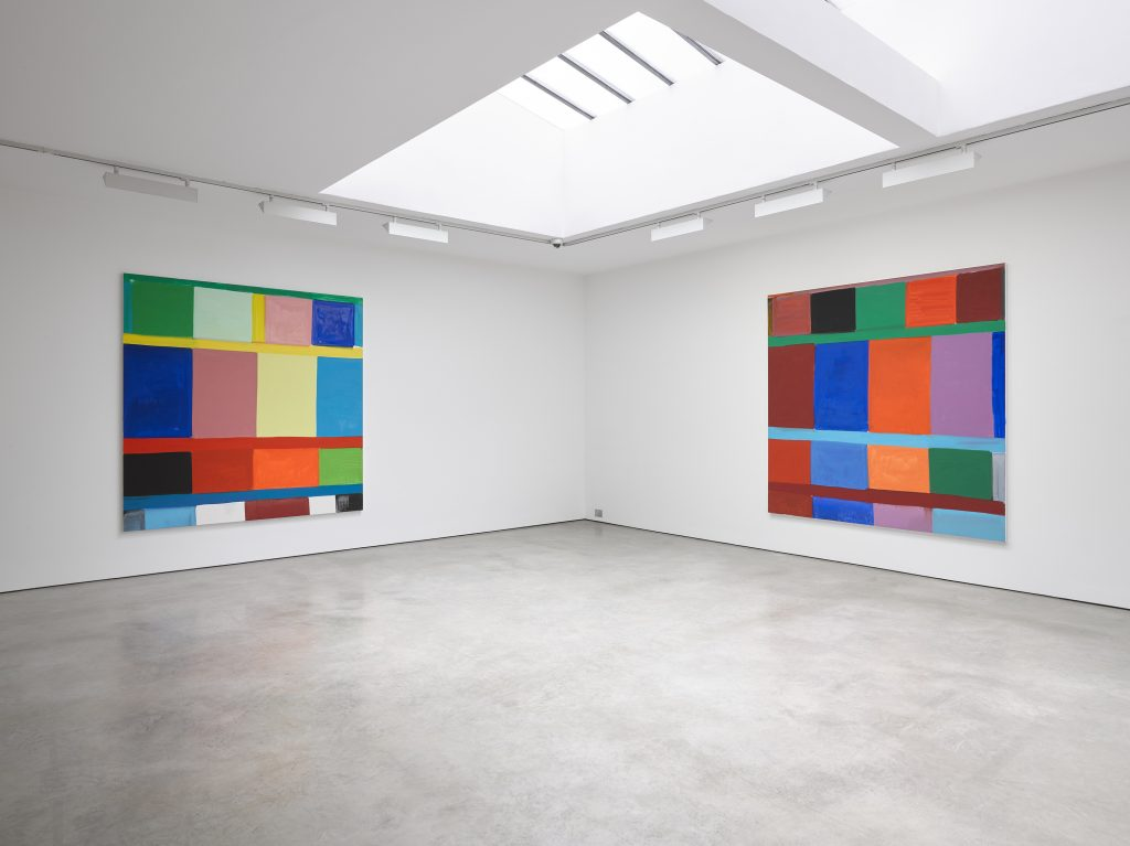 Stanley Whitney: 'Radical Times' Installation view © Stanley Whitney; Courtesy of Lisson Gallery Photography: Jack Hems