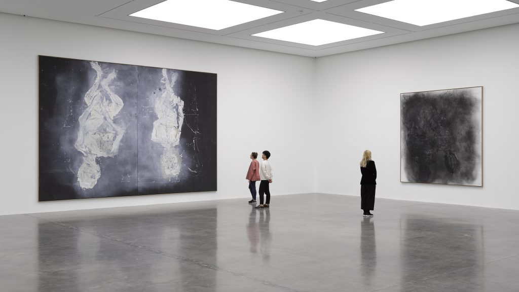 Georg Baselitz 'Wir fahren aus ? We're off', White Cube Bermondsey, London 27 April - 3 July 2016 © 27 April - 3 July 2016 Georg Baselitz Photo: White Cube (Ben Westoby).