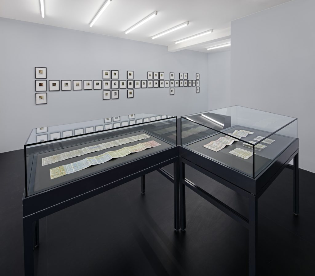 Installation view, Horst Ademeit, 'Living in the radiant cold', Courtesy of Delmes & Zander. © The Estate of Horst Ademeit / Delmes & Zander, Cologne + Berlin. All photos by Hans Georg Gaul.