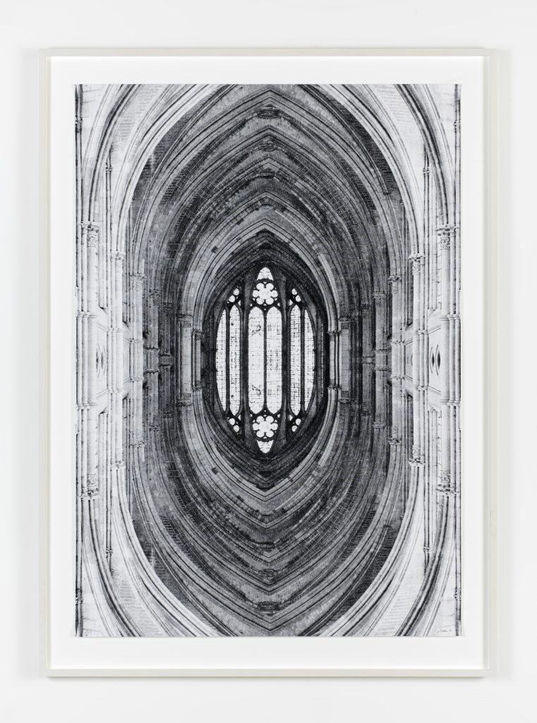 Untitled (Reims), 2016 inkjet print on paper, framed, 178.5 x 130.2 cm; 70 1/4 x 51 1/4 in, 3 + 2 AP. All images courtesy of the artist and KÖNIG GALERIE Photographer: Roman März