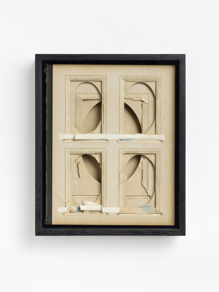 Album, 2016 found album, framed 28.6 x 23.7 cm; 11 1/4 x 9 1/3 in, unique. All images courtesy of the artist and KÖNIG GALERIE Photographer: Roman März