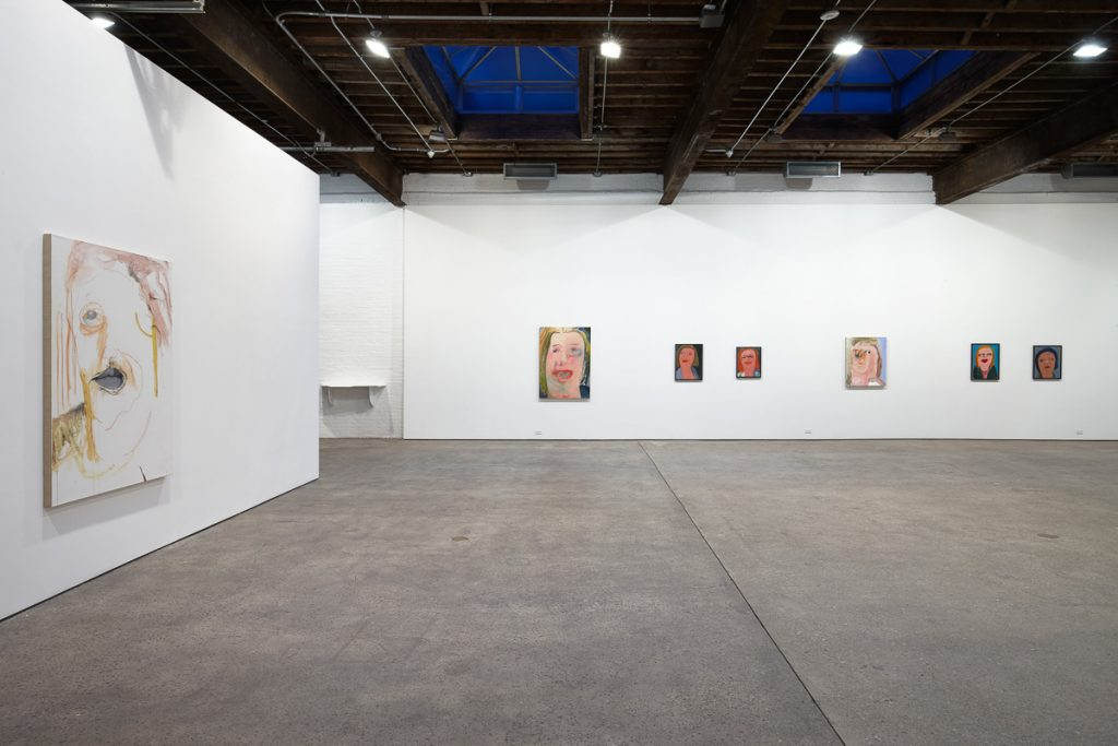 Margot Bergman, Installation view at Anton Kern Gallery. Image Courtesy of Anton Kern Gallery.