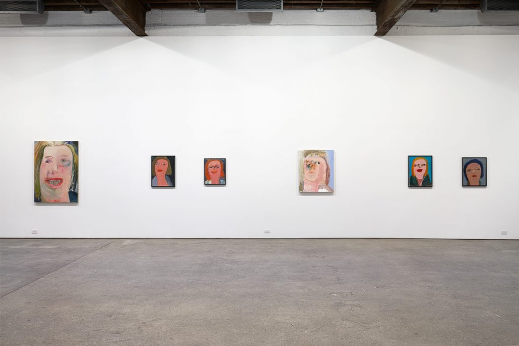 Margot Bergman, Installation view at Anton Kern Gallery. Image Courtsy of Anton Kern Gallery.