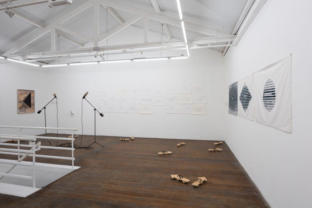 Installation view, Colectiva, Galeria Vermelho. Photography: Edouard Fraipont. Courtesy of Vermelho.