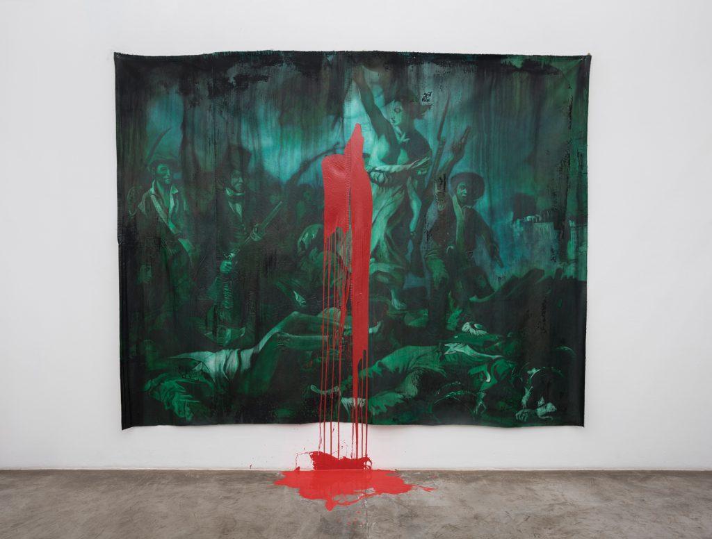 Dora Longo Bahia, Installation view, Colectiva, Galeria Vermelho. Photography: Edouard Fraipont. Courtesy of Vermelho.