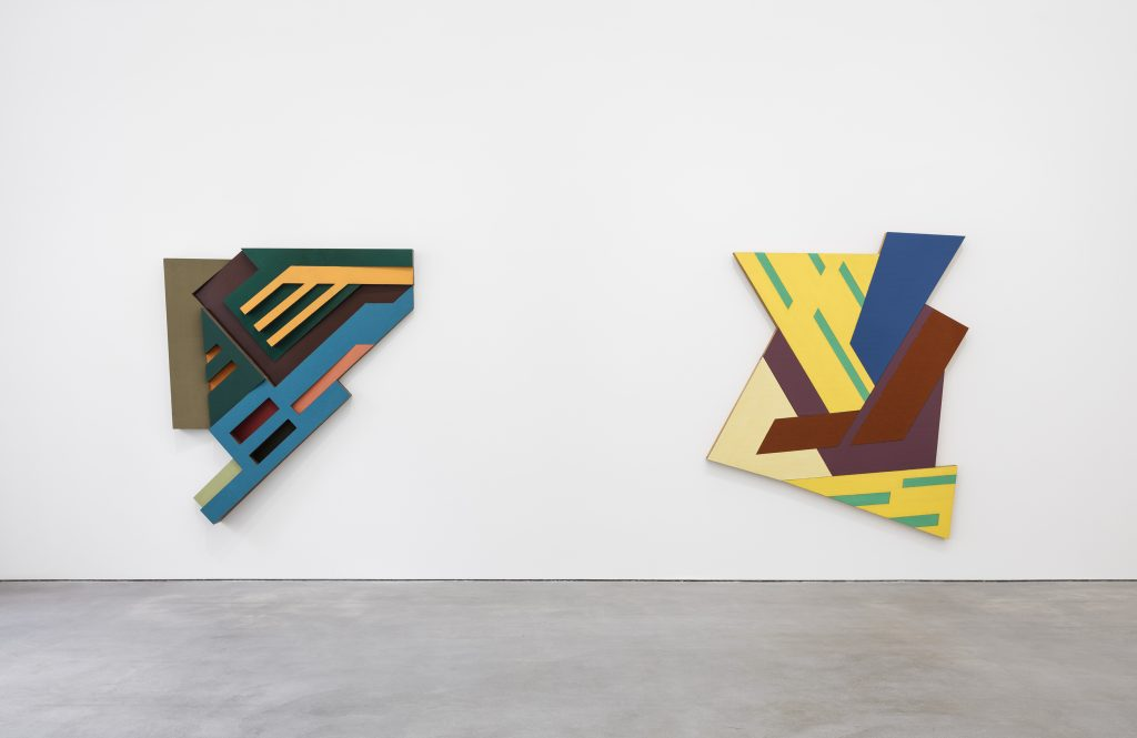 Installation view, Frank Stella, Sprüth Magers, Berlin, July 8 - September 3, 2016 © 2016 Frank Stella / Artists Rights Society (ARS), New York.