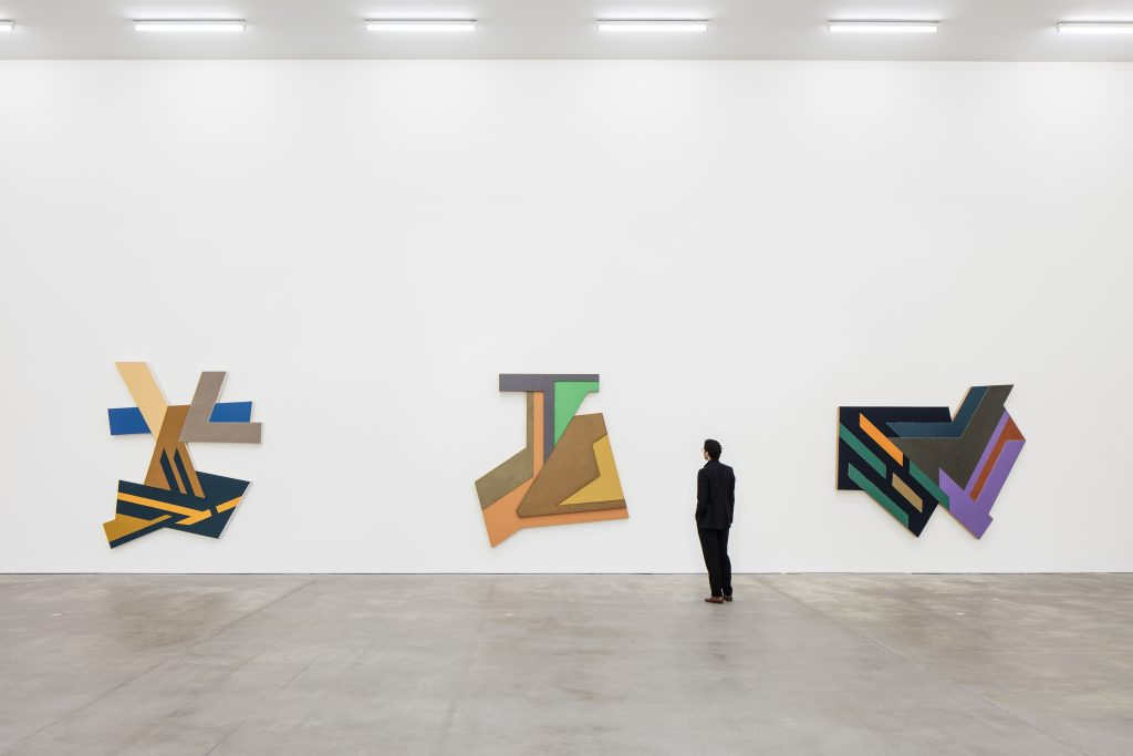 Installation view, Frank Stella, Sprüth Magers, Berlin, July 8 - September 3, 2016 © 2016 Frank Stella / Artists Rights Society (ARS), New York