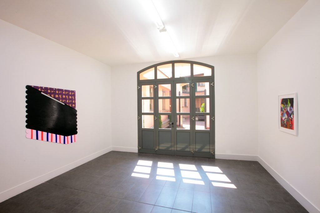 'Life Eraser' Installation view, curated by Domenico de Chirico. Courtesy of Brand New Gallery. 2016.