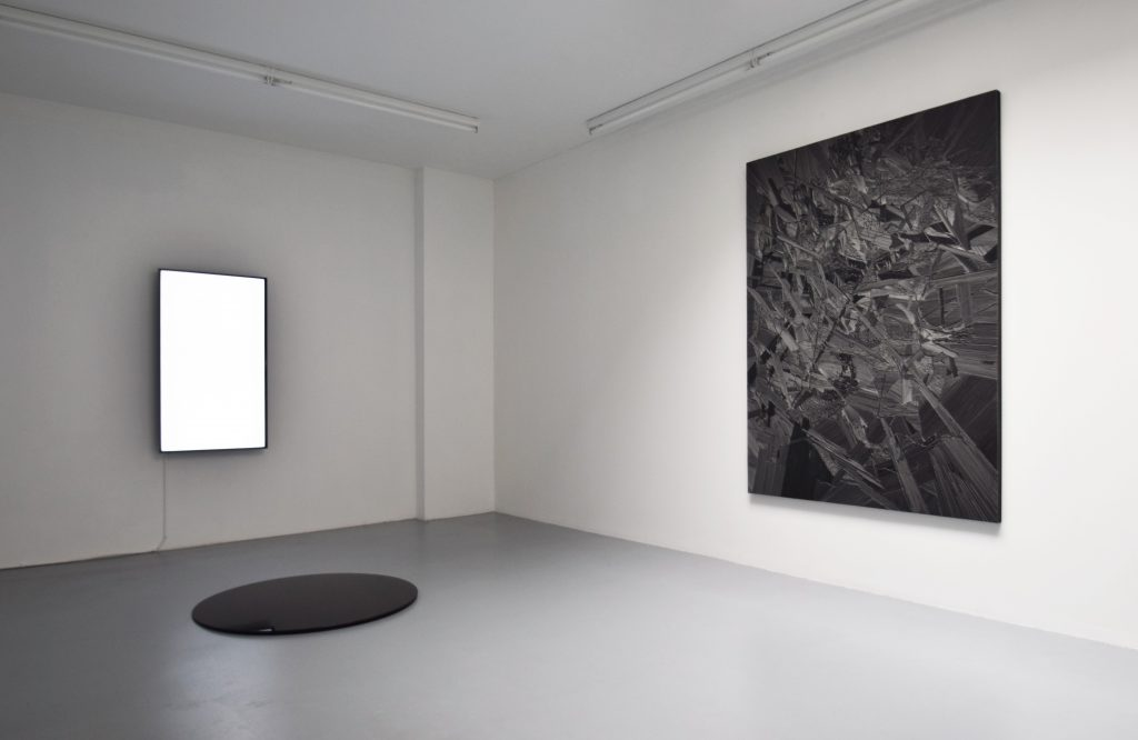 Installation view 'Imprints' at Harlan Levey Projects. Courtesy of Harlan Levey Projects.