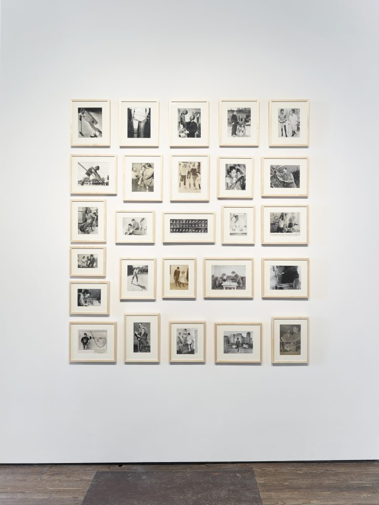 KADER ATTIA Untitled, 2014 26 found black and white photographs dimensions variable Courtesy the artist and Lehmann Maupin, New York and Hong Kong.