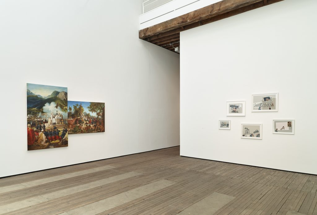 """Repossession"" Installation view Lehmann Maupin, 201 Chrystie Street, New York June 24-August 12, 2016."