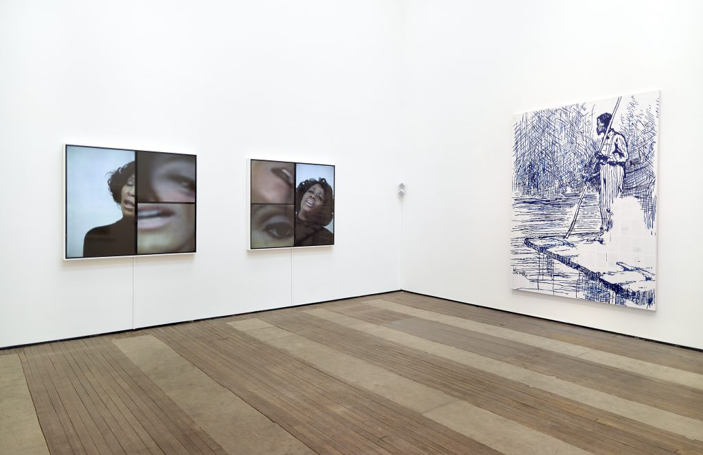 """Repossession"" Installation view Lehmann Maupin, 201 Chrystie Street, New York June 24-August 12, 2016. Courtesy of Lehmann Maupin."
