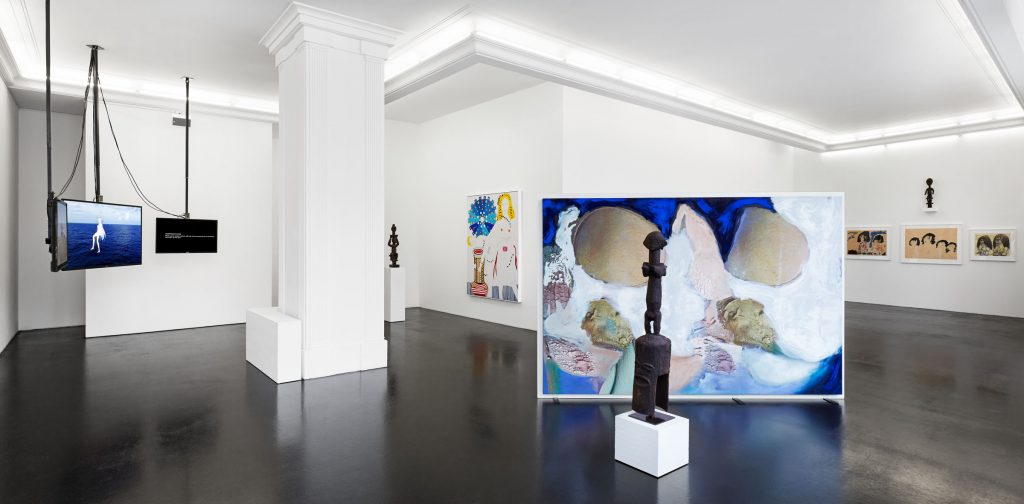 Wild Style: Exhibition of Figurative Art. Installation view. June 10 - August 5 Peres Projects, Berlin. Photography: Andreas Gehrke. Courtesy of Peres Projects.