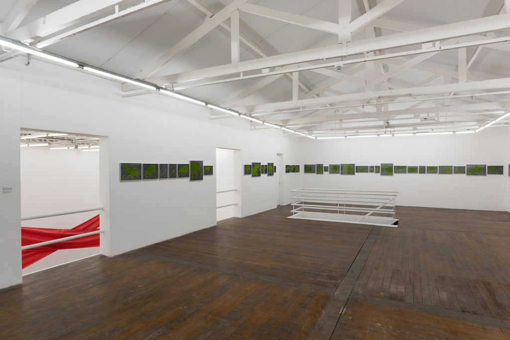 Carmela Gross exhibition view at Galeria Vermelho. Courtesy of Galeria Vermelho, Photography Edouard Fraipont.