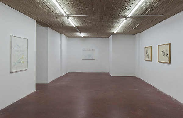 'Gaudi's Room' Exhibition view at DvirGallery, Tel Aviv. Courtesy of Dvir Gallery.