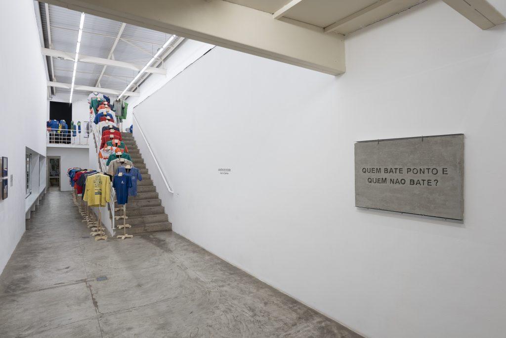Jonathas de Andrade at Galeria Vermelho. Courtesy of Galeria Vermelho. Photography Edouard Fraipont.
