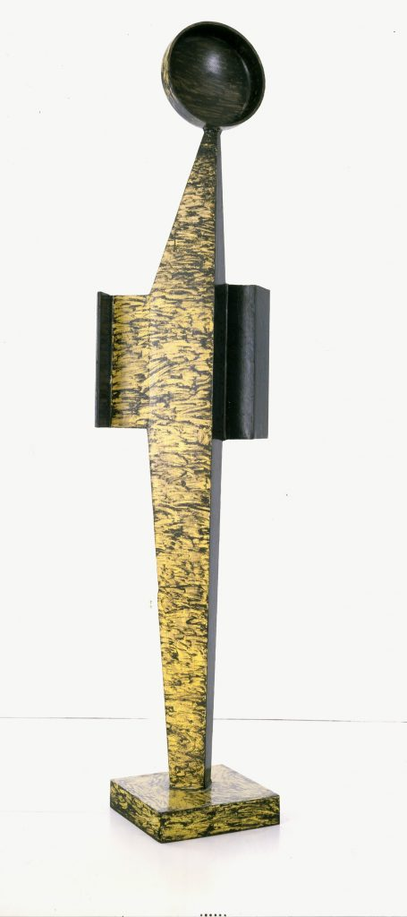 David Smith Ninety Father 1961, Steel, painted, 228.6 x 66 x 30.5 cm / 90 x 26 x 12 in. © The Estate of David Smith Courtesy the Estate and Hauser & Wirth.