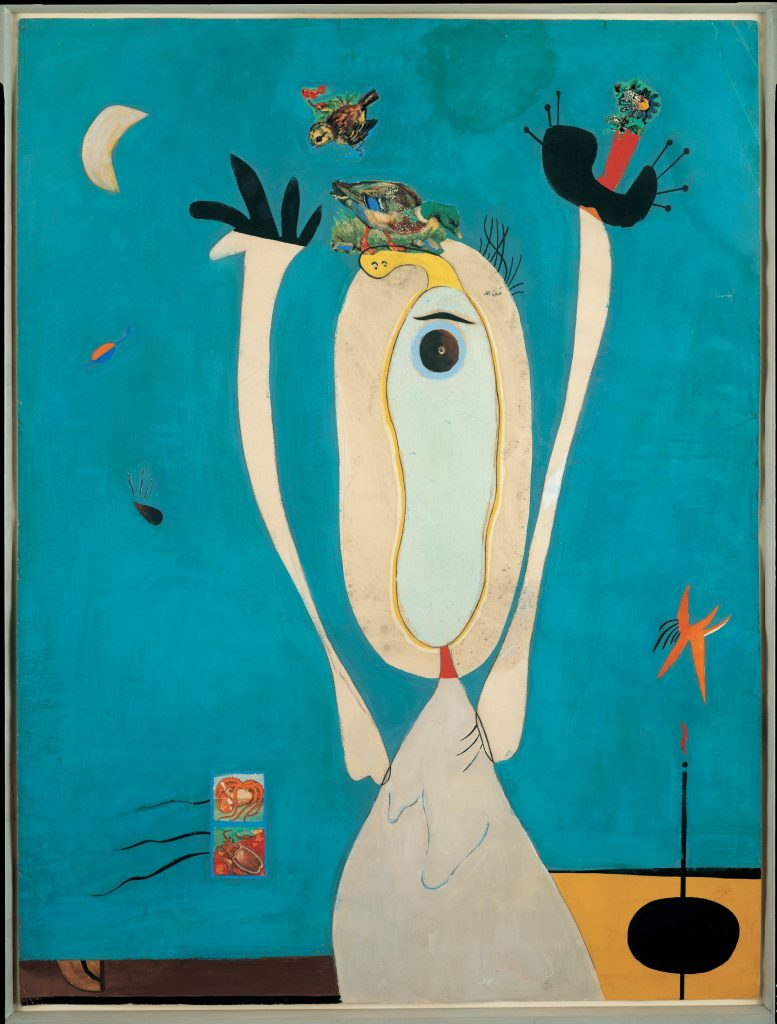 Joan Miró Métamorphose (Metamorphosis) 1936 Gouache, India ink, and decal on paper 63.5 x 48 cm / 25 x 18 7/8 in © ProLitteris / ADAGP Courtesy Albertina, Vienna, Austria / Sammlung Batline and Hauser & Wirth.