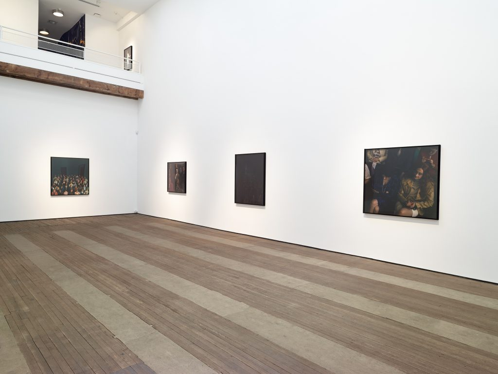 ALEX PRAGER: La Grande Sortie Installation view, Lehmann Maupin, 201 Chrystie Street, New York September 7 - October 23, 2016 Courtesy the artist and Lehmann Maupin, New York and Hong Kong Photo: Max Yawney