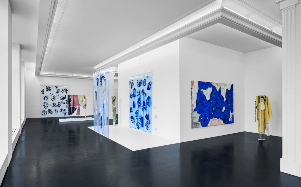 Donna Huanca, 'Surrogate Painteen', Installation view, September 8 - October 28, Peres Projects. Photographer: Matthias Kolb Courtesy Peres Projects, Berlin