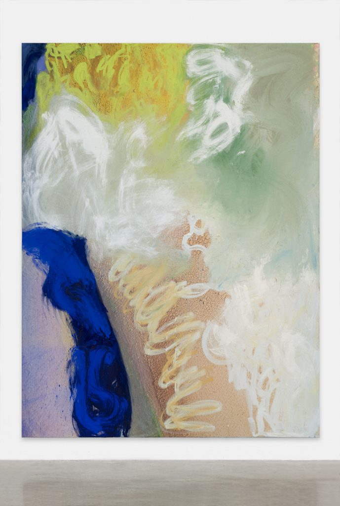 Donna Huanca 'To be titled' 2016, Painting - oil, acrylic and pigment on digital print on canvas. 190 x 142,5 cm. Photographer credit: Matthias Kolb Courtesy Peres Projects, Berlin