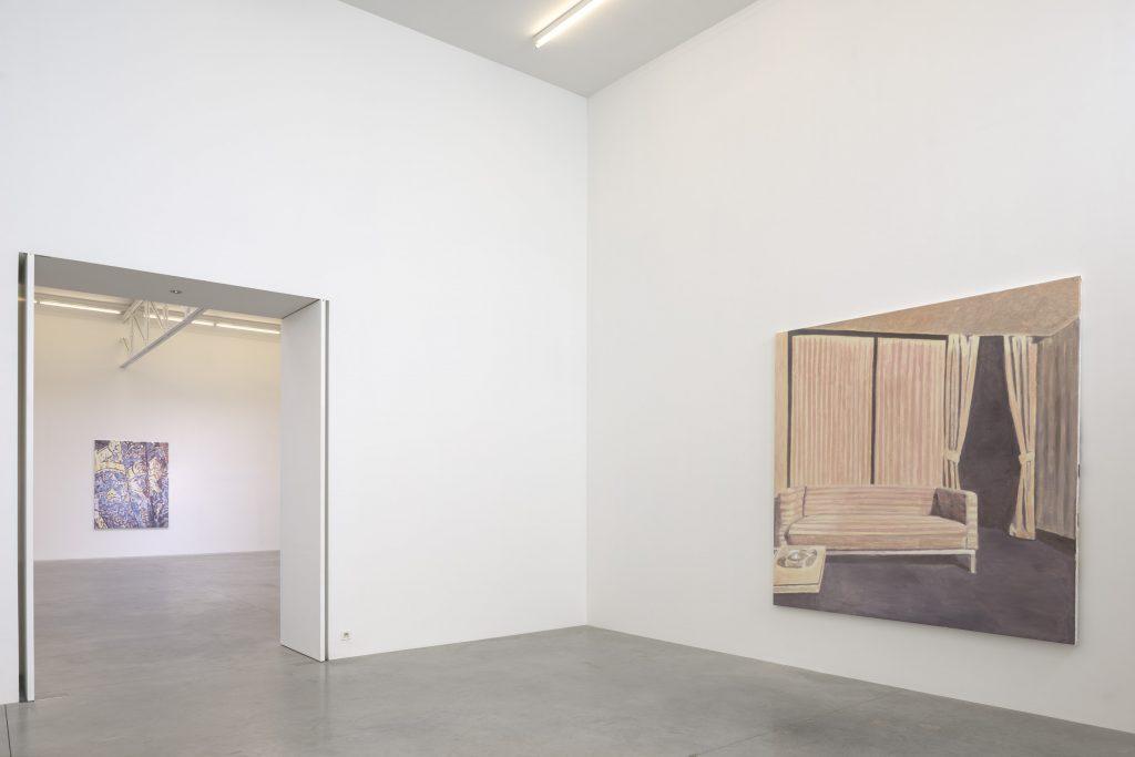 Installation view Luc Tuymans 'Scramble'. Courtesy of Zeno X Gallery. Photography: Peter Cox