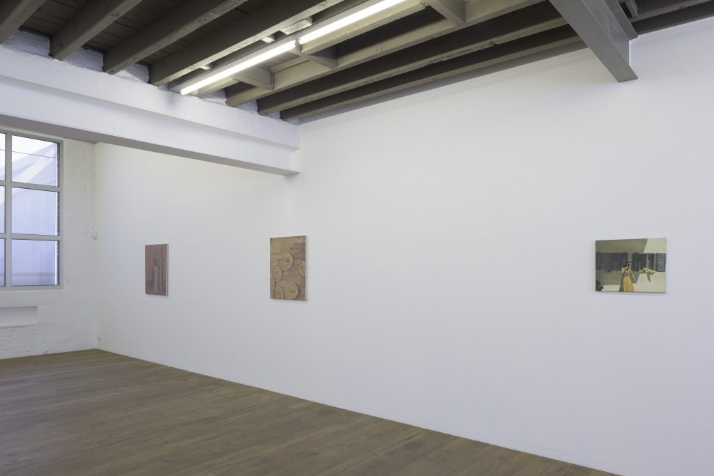 Installation view Luc Tuymans 'Scramble'. Courtesy of Zeno X Gallery. Photography: Peter Cox