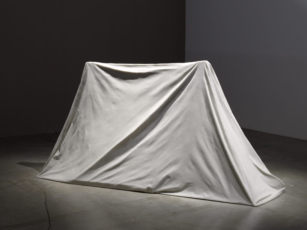 Ryan Gander I is... (xi) 2014 Marble resin, 225 x 100 x 100 cm, 88.6 x 39.4 x 39.4 in. © Ryan Gander; Courtesy Lisson Gallery