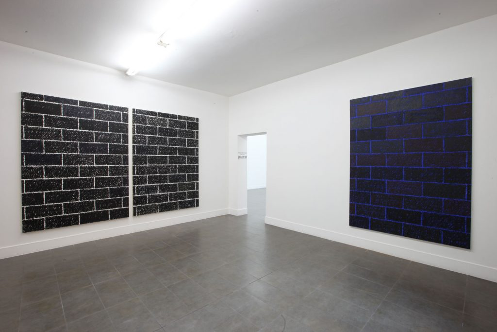 Paul Anthony Smith 'Blurred Lines' Installation view at Brand New Gallery. Courtesy of Brand New Gallery.