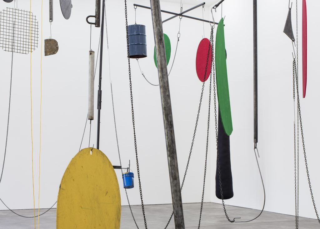 Installation view, Sterling Ruby, 'THE JUNGLE', Sprüth Magers, Berlin, September 17 - October 29, 2016. Copyright Sterling Ruby Courtesy the artist and Sprüth Magers