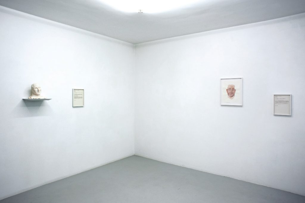 Exhibition view, Fabrice Samyn 'Solipsism', Meessen De Clercq, Brussels. Courtesy of Meessen de Clercq.