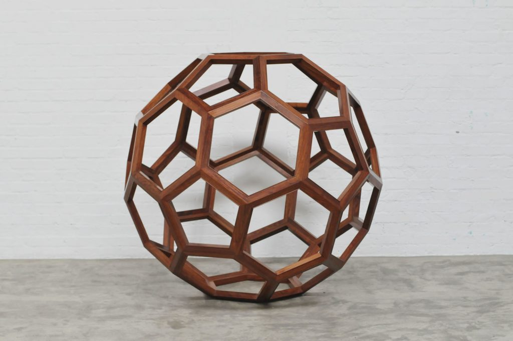 Ai Weiwei F Size 2011 Huali wood, 130 cm diameter, 51.2 in diameter © Ai Weiwei; Courtesy Lisson Gallery
