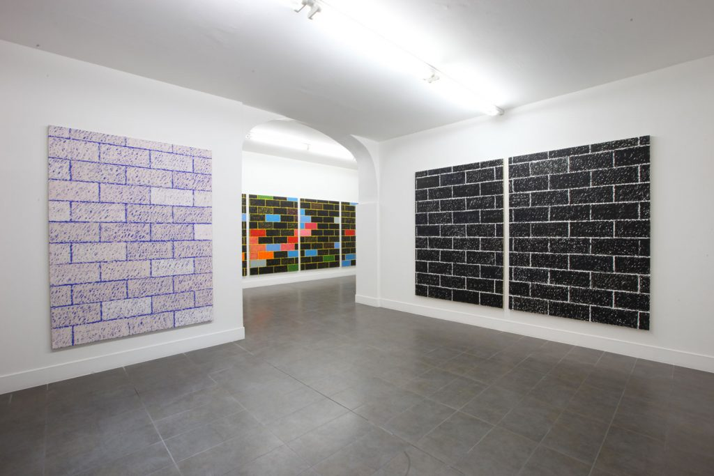 Paul Anthony Smith ' Blurred Lines' Installation view at Brand New Gallery. Courtesy of Brand New Gallery.