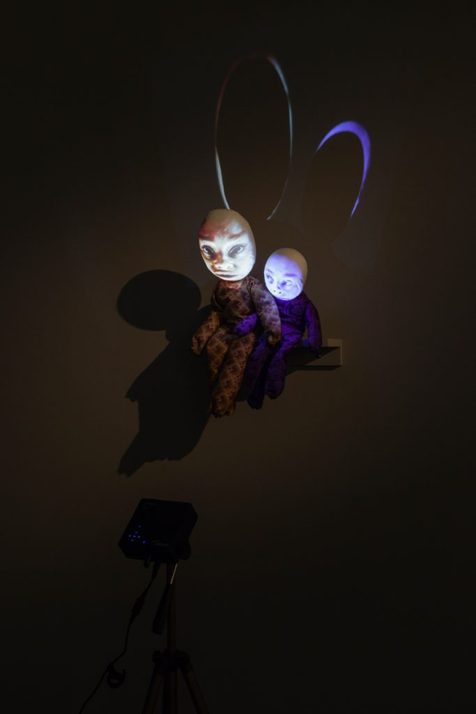 "Tony Oursler, ""Get It Right"", 1995. Courtesy the artist. Photo: Christian Saltas"