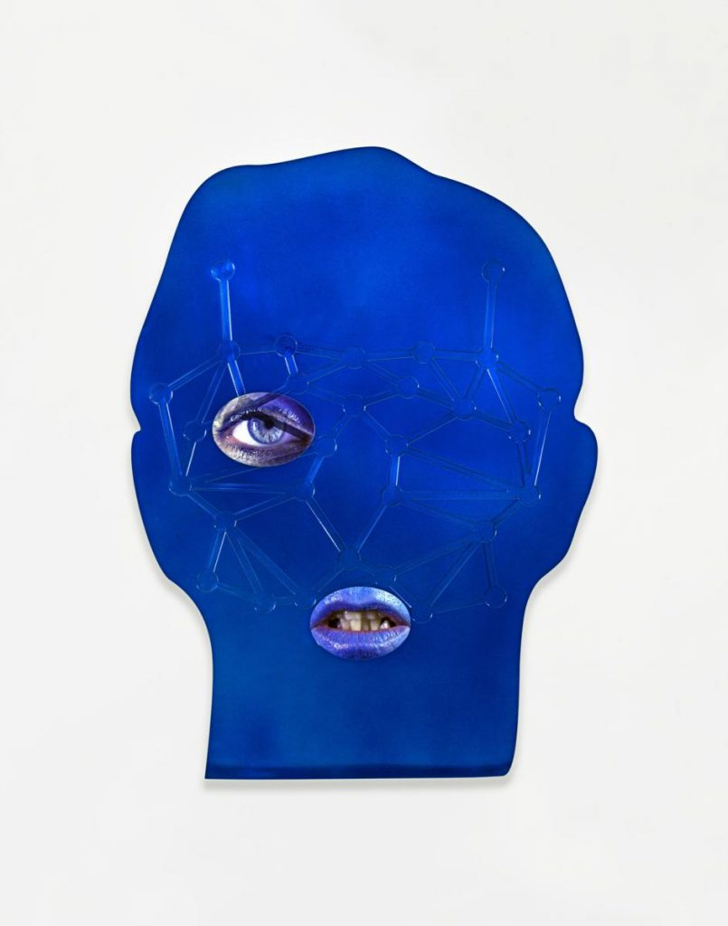 Tony Oursler, ID, 2014 Photo: © Tony Oursler, Courtesy Lisson Gallery. Photography: Adam Reich.