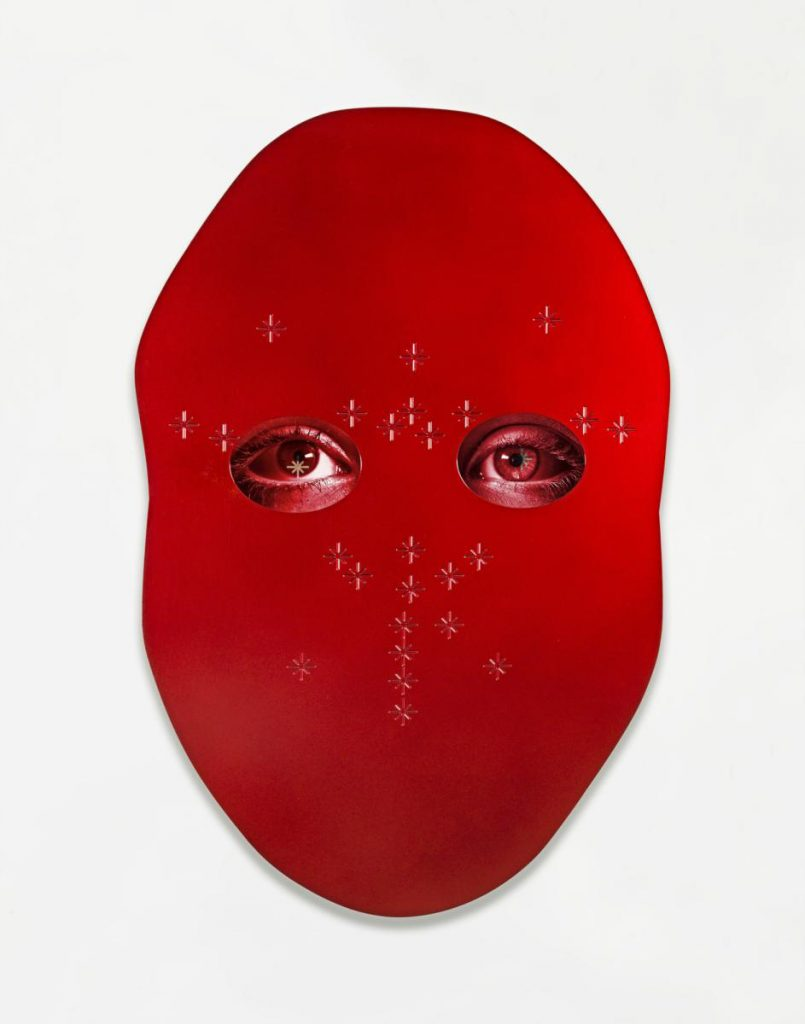 Tony Oursler, MUG, 2014 Photo: © Tony Oursler, Courtesy Lisson Gallery. Photography: Adam Reich.
