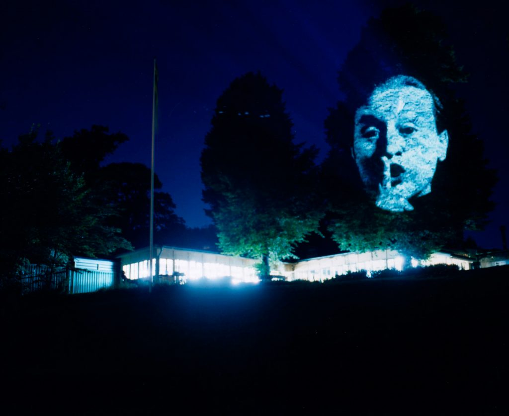 Magasin 3 Projekt Djurgårdsbrunn Artist: Tony Oursler Title: Influence Machine Year: 2002 Photo: Mattias Givell