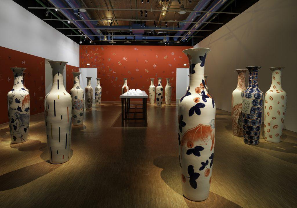 Prix Marcel Duchamp 2016, Barthélémy Toguo, Installation view, Centre Pompidou. Courtesy Centre Pompidou.