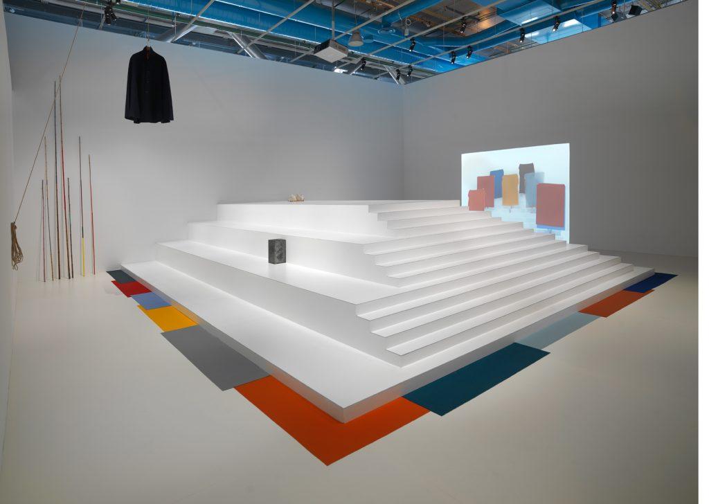 Prix Marcel Duchamp 2016, Installation view, Ulla von Brandenburg, Centre Pompidou. Courtesy Centre Pompidou.