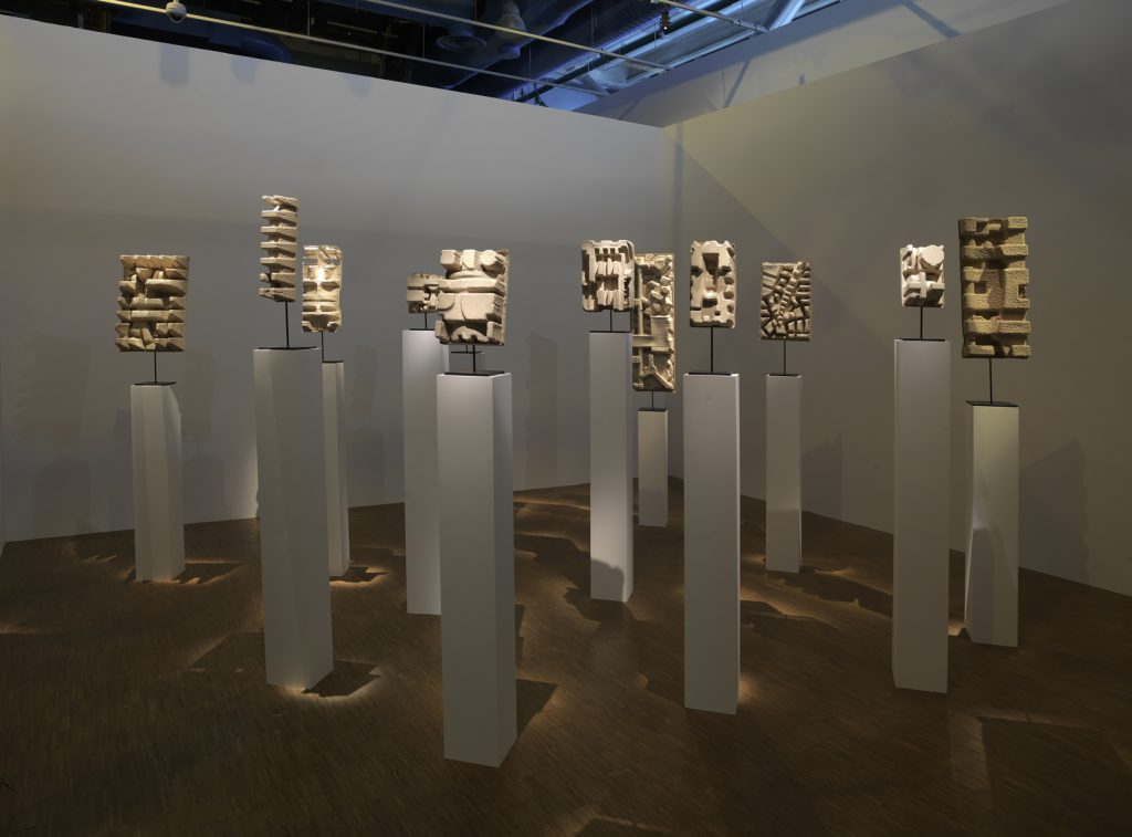 Prix Marcel Duchamp 2016, Installation view, Kader Attia, Centre Pompidou. Courtesy Centre Pompidou.
