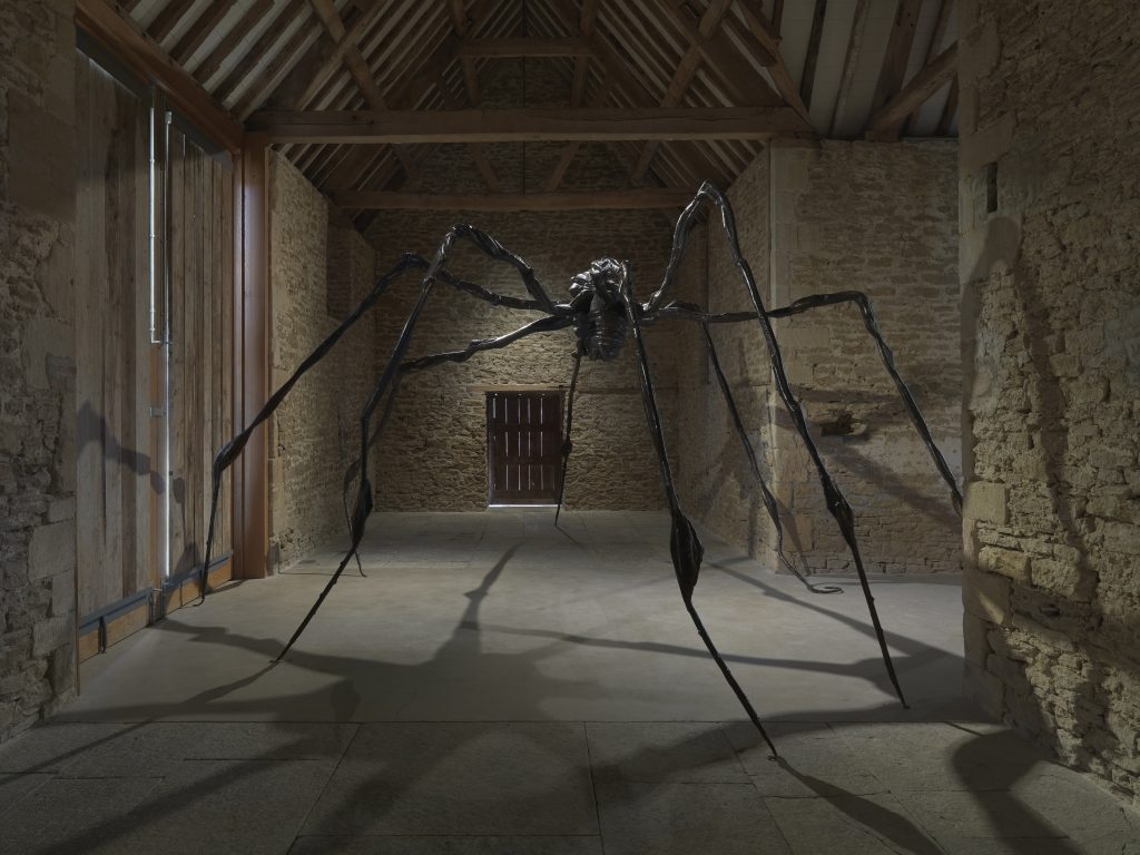 Installation view, 'Louise Bourgeois.Turning Inwards', Hauser & Wirth Somerset, 2016 Louise Bourgeois © The Easton Foundation/VAGA, New York/DACS, London 2016. Courtesy Hauser & Wirth. Photo: Ken Adlard
