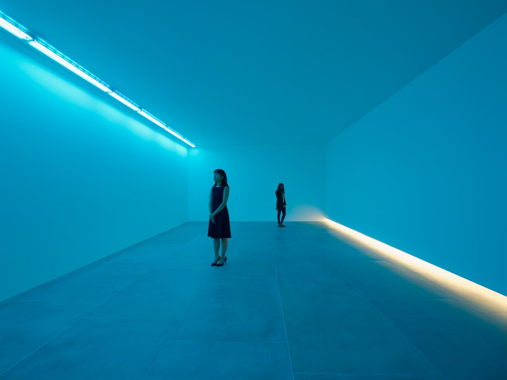 Bruce Nauman, 'Natural Light, Blue Light Room', 1971, Installation View, 2016, © Bruce Nauman 2016, Photo Peter Mallet