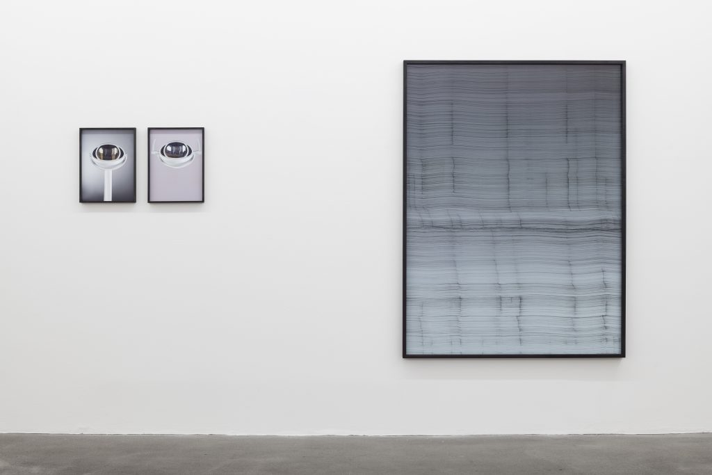 Installation view, Louisa Clement, Anna Vogel, Moritz Wegwerth, Curated by Andreas Gursky, Sprüth Magers, Berlin September 17 - October 29, 2016